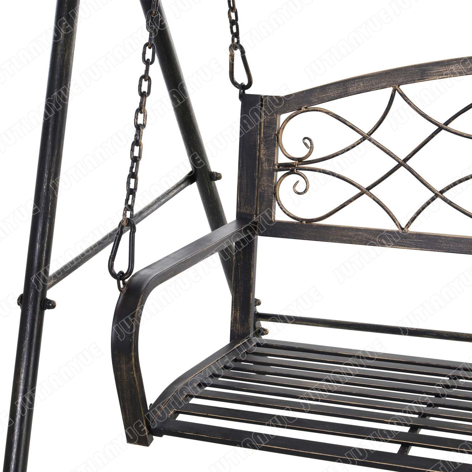 Garden 2 Seat Free Standing Metal Porch Swing Chair Bench With Stand Set Buy Metal Patio Chiar Swing Bench Swing Glider Chair Product On Alibaba Com