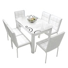 Glass Dining Set Dining Tables And Chairs Set Wholesale Modern Glass Dining Tables And Chairs Set
