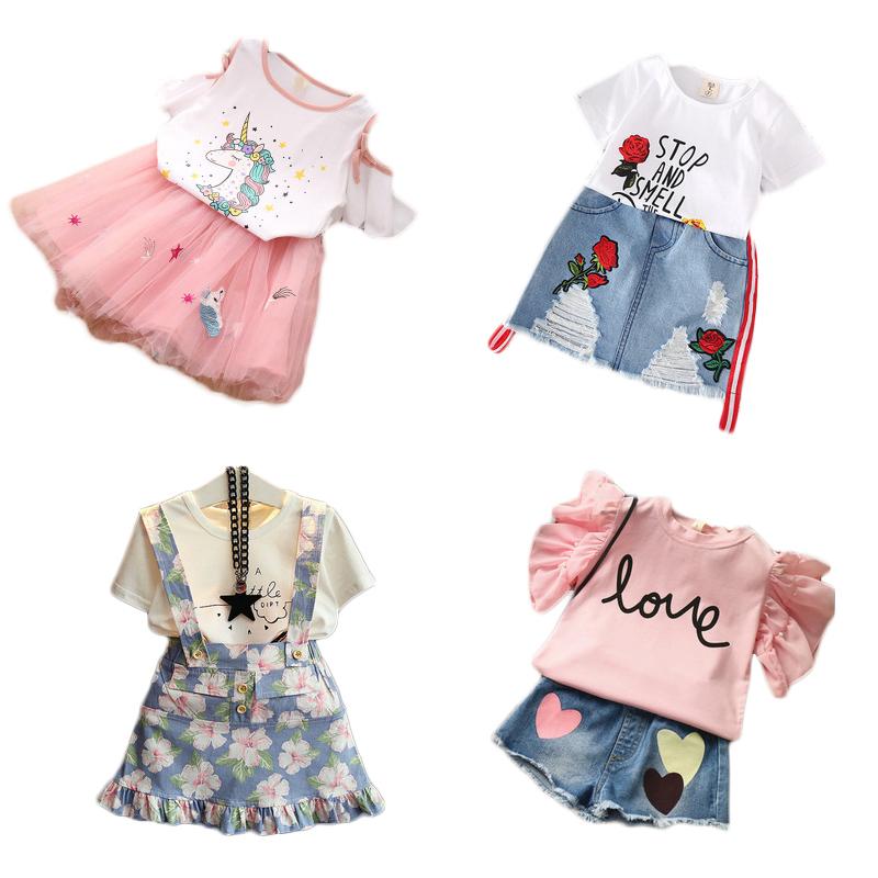 2020 新デザイン夏フレアスリーブバック学校に中国卸売ブティック花女の赤ちゃんバングラデシュ子供服