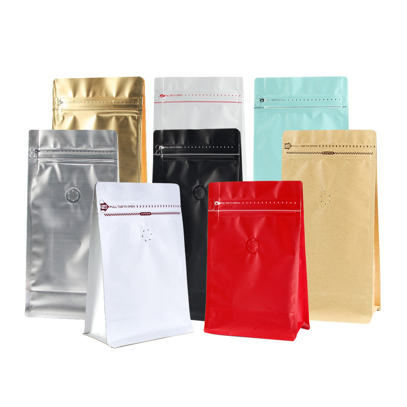500g Wiederverschließbaren Aluminium Folie Kunststoff Quad Dichtung Goji Berry/Rote Datteln/Pilz/Maismehl Ziplock Kunststoff Tasche für Getrocknete Lebensmittel