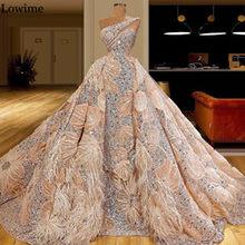 Мусульманское платье знаменитости на одно плечо 2020, особая ткань с кристаллами, красное платье с дорожным верхом, длинное карнавальное вече...(Китай)
