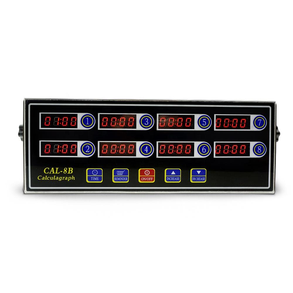 Оптовая продажа точный стабильны кухонного экранное меню Восьмиканальный таймер 8 канальный таймер многоканальный легкая Операционная