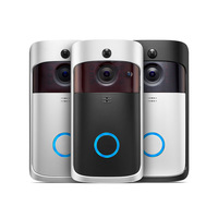 Amazon WiFi Video Doorbell,Smart Home Security Camera with Indoor Chime,APP Control for iOS Android Google &Smart Home