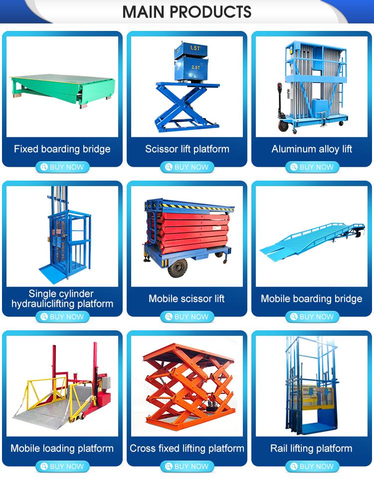 ร้อนขายราคาถูกราคา 8 t/10 t/12 t ความจุ mobile dock ramp leveler lift/โทรศัพท์มือถือโหลดภาชนะ bay สำหรับขาย