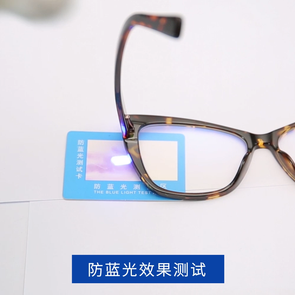 Computer eyeglasses Europe design handmade tr glasses