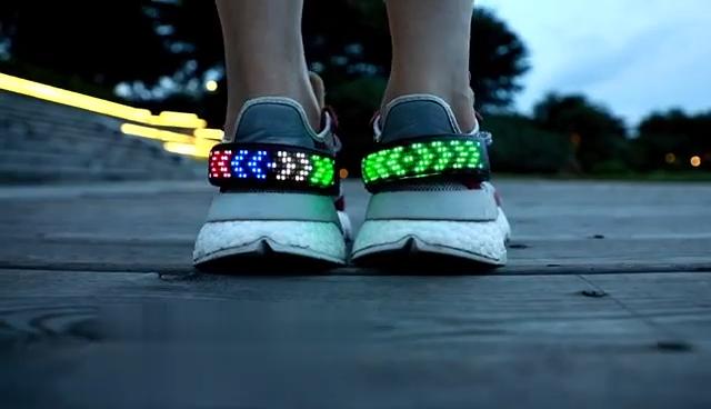 Clip On Shoe Lights Magic Flash Shoe Safety Led Light Clip USB Charging Led Shoe Clip Light