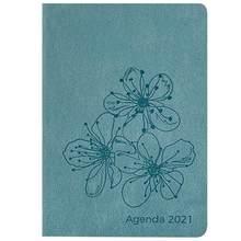 Чехол для планировщика A5 2020 с принтом роз, портативный блокнот, дневник, канцелярские принадлежности, практичный блокнот, записывающая книг...(Китай)