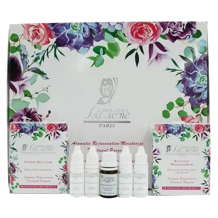SKin Care Sets Rejuvenate Whitening Mask Beauty skin care products rose essential oils and Nourishing Facial Cream