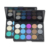 Low Price 15 Colors Long Lasting Glitter Matte Customized Tray Makeup Black Eye Private Label Eye Shadow