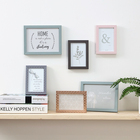 Picture Photo Photo Picture Frame Wholesale Online Hot Design Wall Decorative Plastic White Simple Picture Photo Frame Set For Home Decor