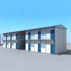 Light Steel Prefabricated Modular K Type House school China Manufacturer prefab house