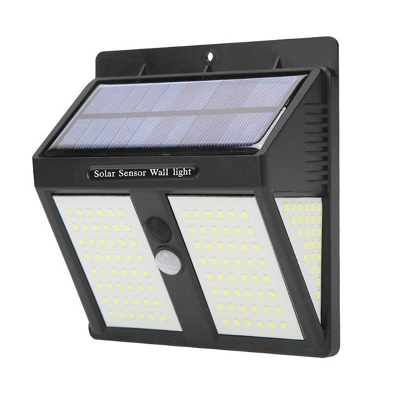 New Arrival Solar <strong>Outdoor</strong> 146 <strong>LED</strong> Cold <strong>Lights</strong> Front Switch Waterproof Motion Sensor Security Garden <strong>Lights</strong> for Patio