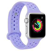 CRESTED Siliconen sport strap Voor Apple horloge band 44mm 40mm correa iwatch <span class=keywords><strong>nike</strong></span> 3/2/1 pols bands armband Rubber horlogeband <span class=keywords><strong>riem</strong></span>