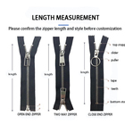 Zippers Zippers Zipper Sizes Customized Size #3#5 Invisible Nylon Zippers Waterproof Nylon Zippers