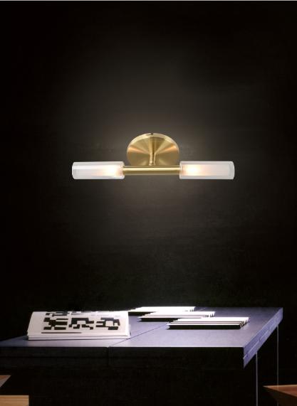 أضواء السقف الإضاءة الزجاج الحديثة الذهب مصباح الجدار LED G9 الفاخرة أسلوب داخلي الإسكان فندق مصباح السقف