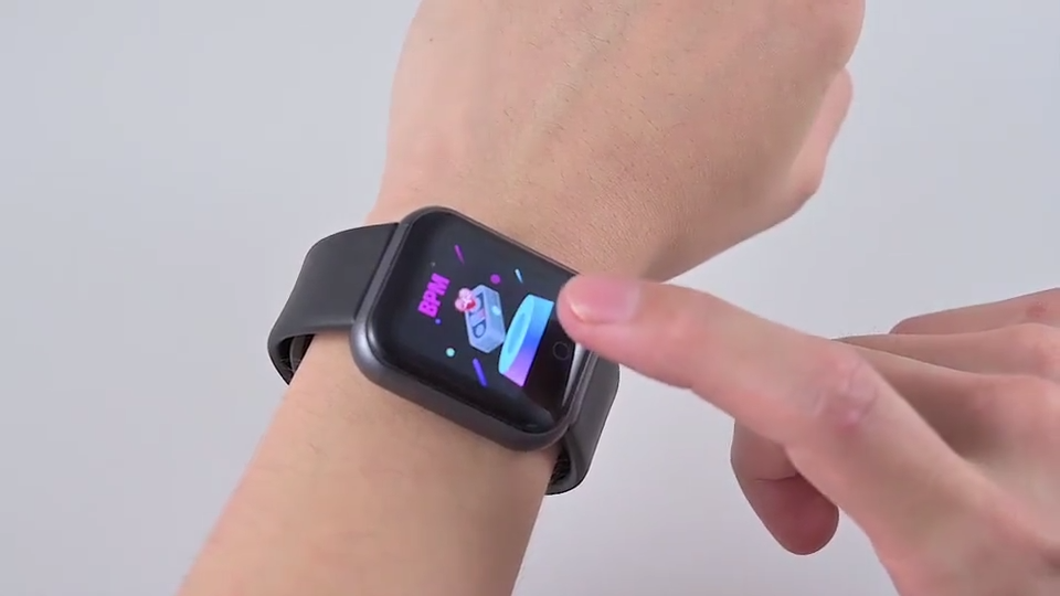 2020 Hot Selling Waterproof Blood Pressure Y68 Smartwatch D20 Pro Reloj Inteligente Fitpro Pro D20 Smart Watch Y68