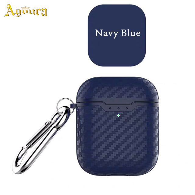 New for airpods pro 3 carbon fiber pattern tpu shockproof protective case wireless earphone case