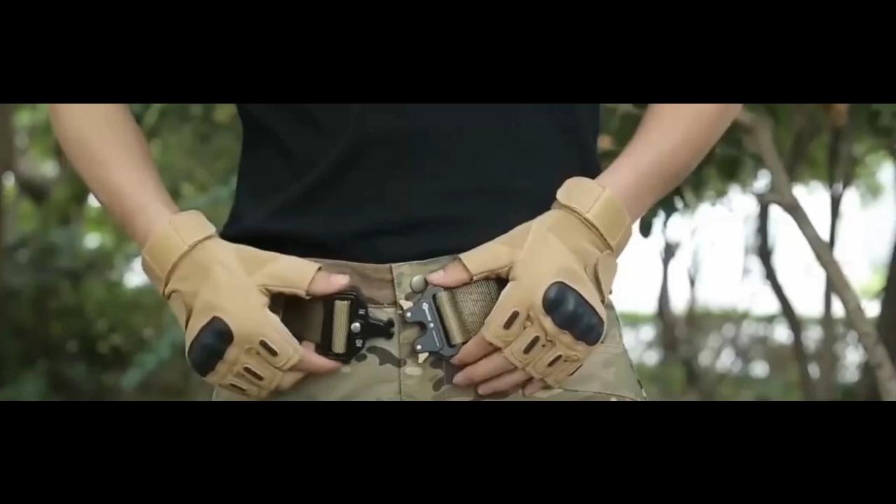 Custom Army  tactical buckle nylon strap can custom logo military police belt Army tactical belts nylon belt 8251
