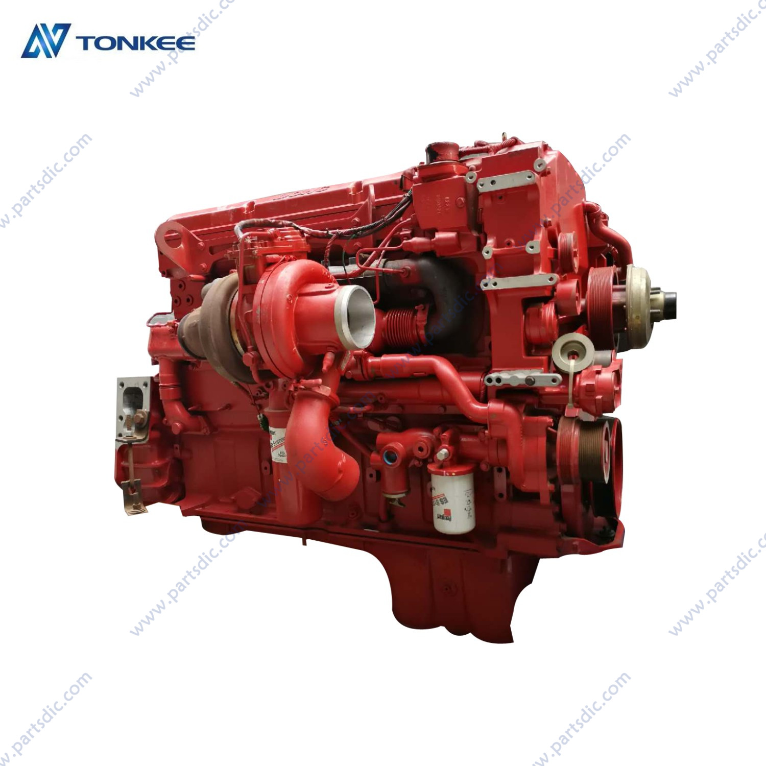 brand new 79298001 ISX485 8CEXH0912XAL complete engine assy 485HP 2000RPM earthmoving machine dozer engine assy for sell