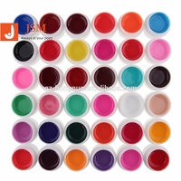 36 Pure Solid Color Cream UV Builder Gel Nail Art 5ML GP024