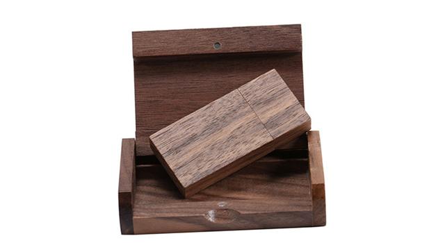USB-флеш-накопитель YONANSON деревянный с логотипом на заказ, 4/8/16/32 ГБ