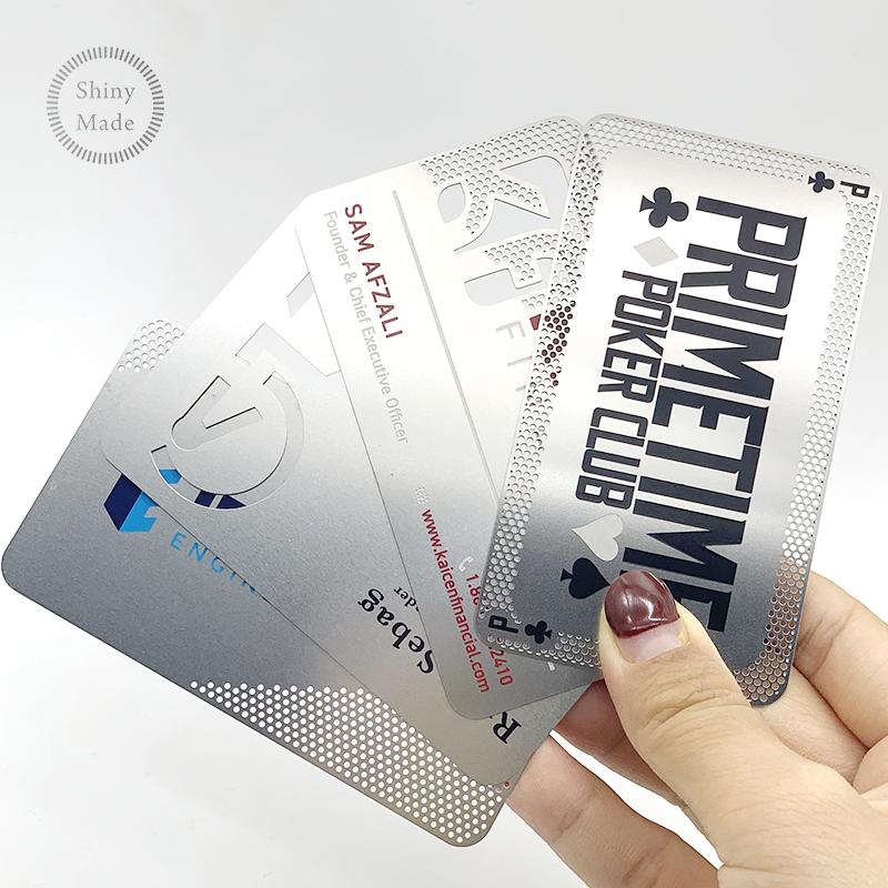 Hersteller Nach Maß Metallic Business Metall VIP Visitenkarten edelstahl mitgliedschaft karte fabrik
