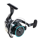 TAIGEK New Arrival 3000 Series Peche Spinning Fishing Reels Wheel Meatal Spool Spin Penn Reel