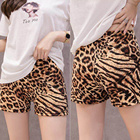 Fashional Mcoser Wholesale Women's Seamless Safety Leopard Print Shorts Girls Slip Long Panties Underwear Latest Panty Designs Women