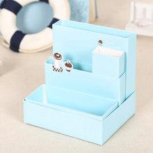 Бумажная доска коробка для хранения стол декор канцелярские принадлежности Органайзер Чехол DIY милый красота(Китай)