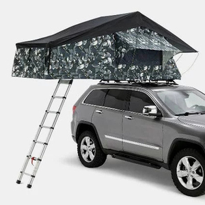 new design car camping tent roof top tent hard with ladder