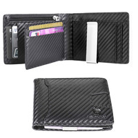 Fashion designer money clip slim men wallet designer coin pocket
