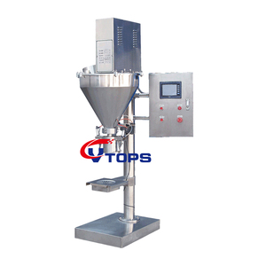 Semi Auto Auger Filler Packing Machine with Clamp And Refilling System