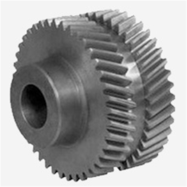 5 Axis OEM CNC Precision copper brass alloy Double helical Gear cylindrical helical gears