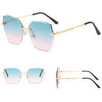 DLL036 DL glasses 2020 New Design Wholesale Sunglasses Women Fashion Shades Gold Sun Glasses