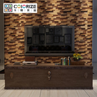 Packaging Customization Wood Panel High Quality Home Wall Decoration Strip 3d Natural Wood Panel Tv Background 3d Culture Wood Wall Clad Panel