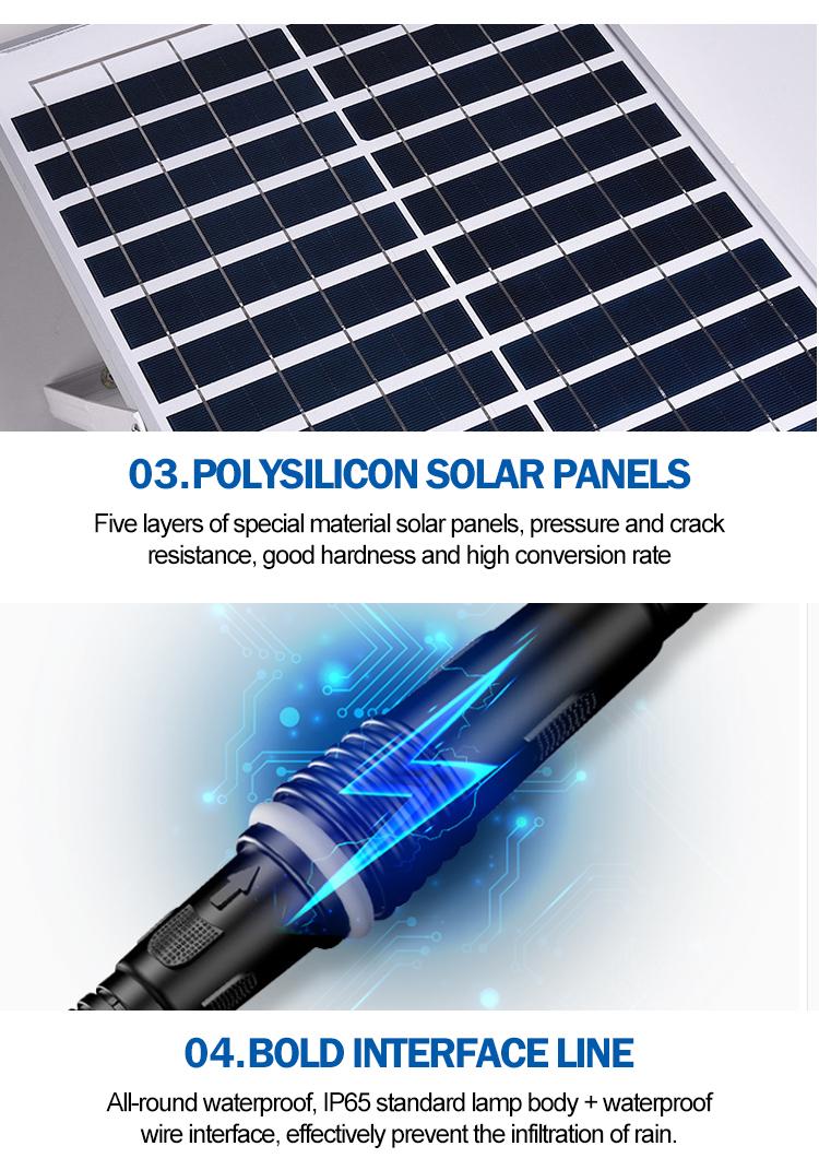 Yüksek lümen SMD IP65 Su Geçirmez dış mekan Alüminyum 50w 100w 150w 200w 300w güneş led projektör