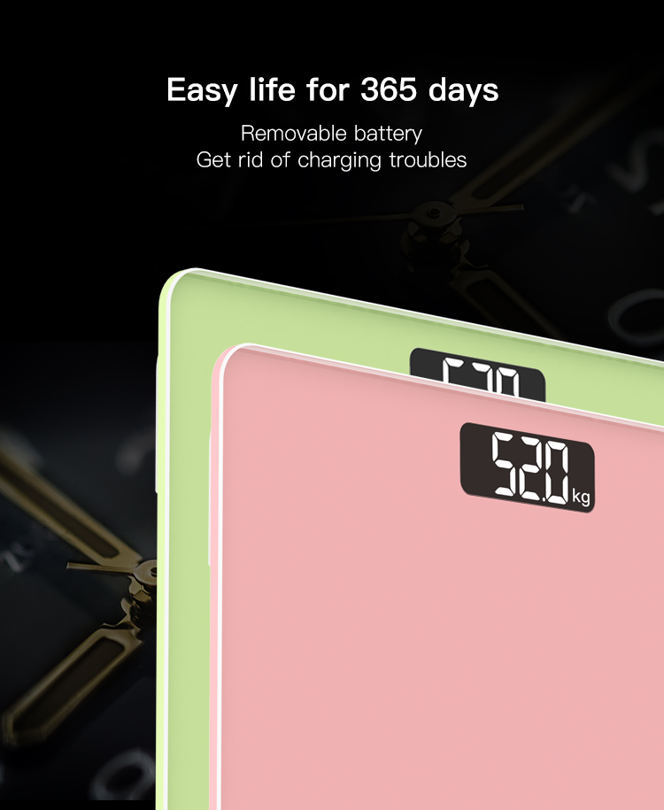 Ultra Portable Body Fat Electronic Weight Machine Smart Mini Digital Baby Weight Scale High Precision Bathroom Weighing Scales