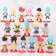 Action Figure <span class=keywords><strong>Dragon</strong></span> <span class=keywords><strong>Ball</strong></span> <span class=keywords><strong>Z</strong></span> een set van 16 pcs Boxed Japan Anime Figuur Decoratie Model 0.26kg