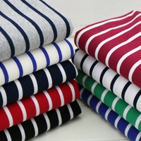 32s yarn dye cotton spandex knitted terry fabric for hoodies and sportswear material