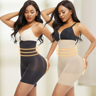 Wholesale High Waist Tummy Control Plus Size Shapewear Seamless Butt Lifter Slimming Body Shaper