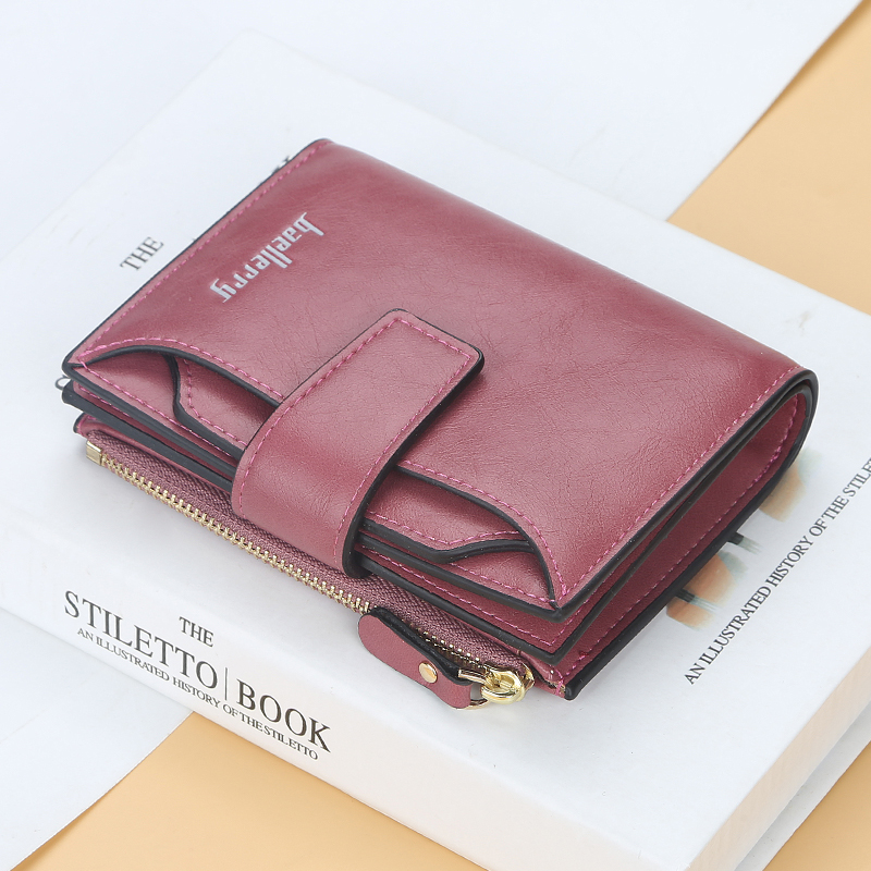 2020 hotsale ID Credit Coin Clip Wallet Men Female pu Leather purse