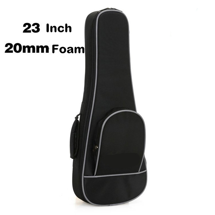 Custom Logo 23 Inch Ukulele Bag Case Foam Schouders Water-proof Ukulele Accessoires