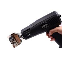 Электрическая тепловая пушка 220 в 2000 Вт, тепловая пушка 150-550, Регулируемая рабочая температура, сопло, автомобильная пленка для выпекания, су...(Китай)