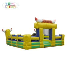Parco <span class=keywords><strong>di</strong></span> Divertimenti Gonfiabile Meccanico Rodeo Bull Riding Macchina Giochi