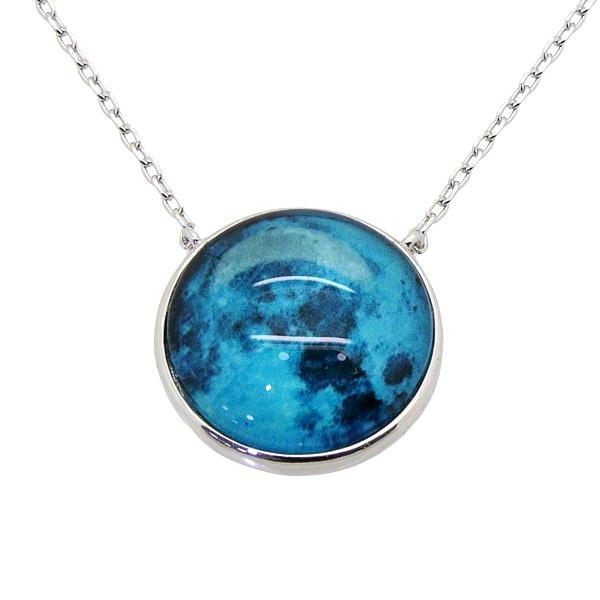 Ristar dainty 925 silver jewelry Luminous stone necklace
