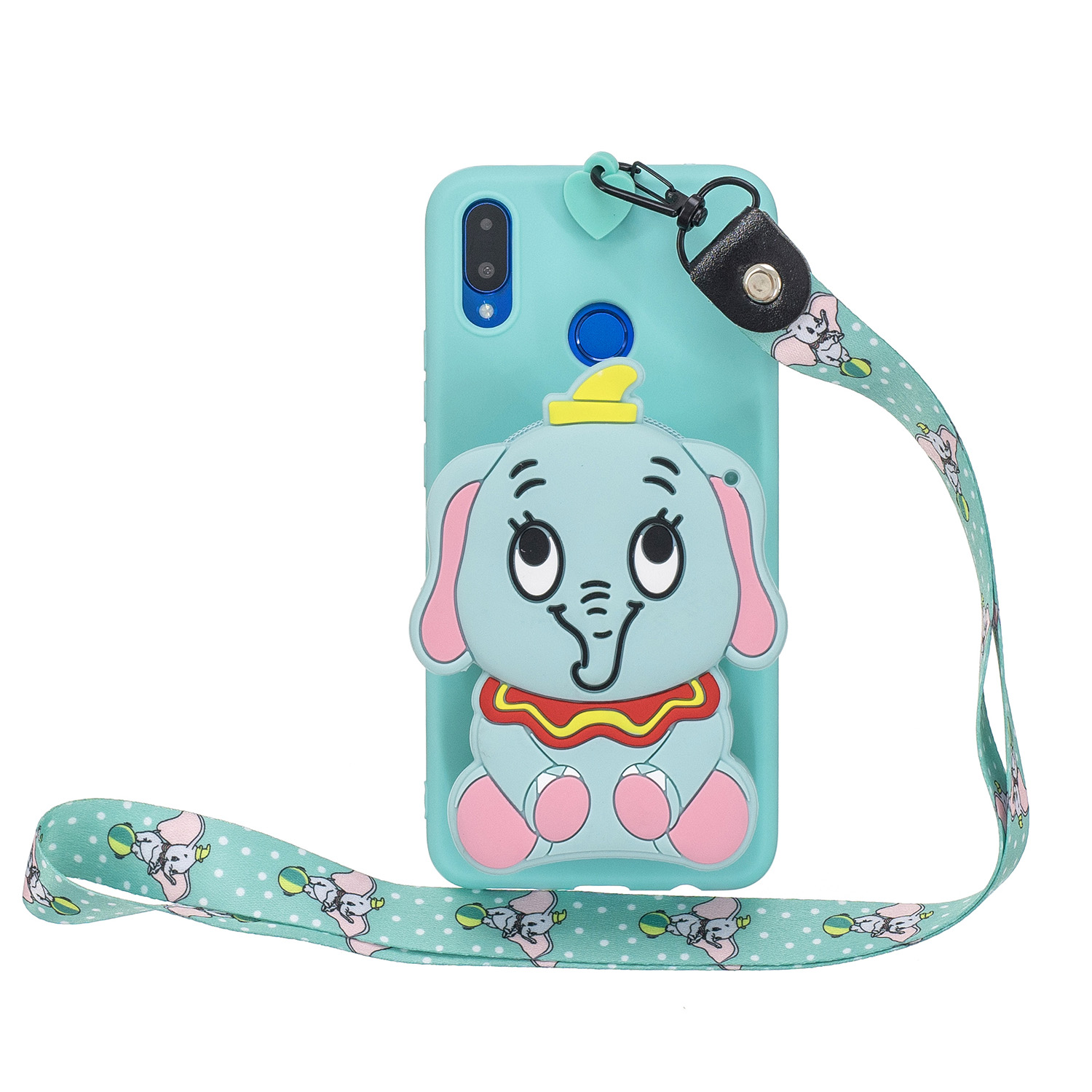 Cute Bear Cartoon Case For Vivo V3 Max Y15 Y27 Y927 Y31 Y35 <strong>V1</strong> Max Y37 Soft Silicone Strap Cover For Vivo Xplay 6 Case