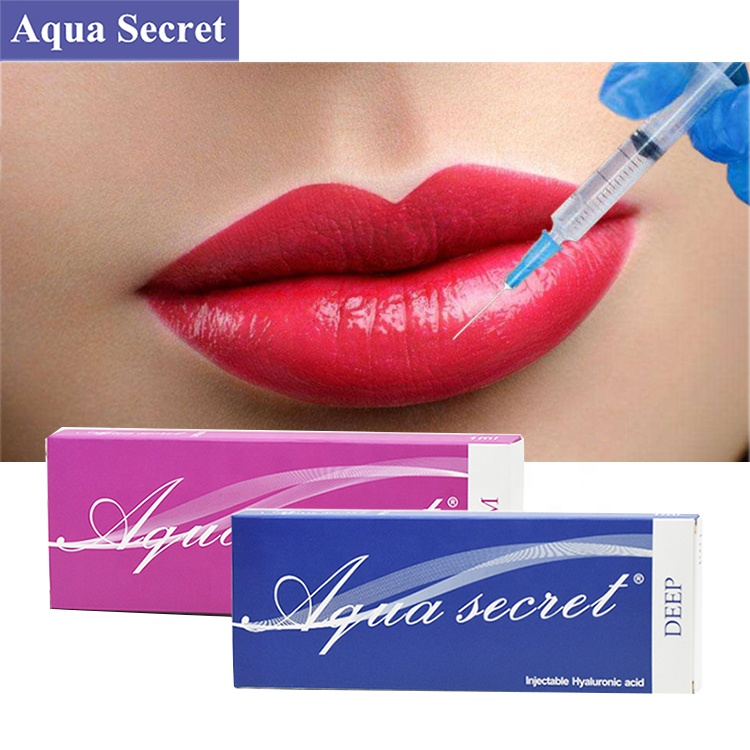 Cosmetic Aqua Secret 2ml Deep hyaluronic acid gel breast filler injection