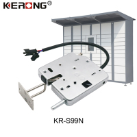 KERONG Small Hidden Electric Magnetic Safe Storage Locker Lock with Silence Rubber Mat to Reduce the Noise