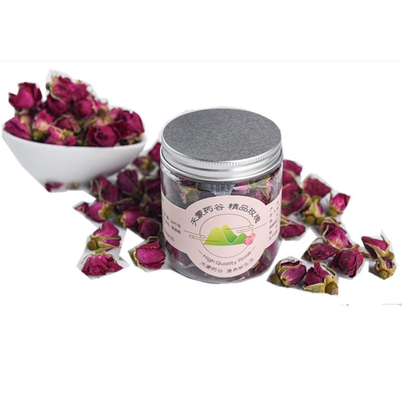 Rose Black Tea Organic Rose Tea Dried Rose Flower Tea - 4uTea | 4uTea.com