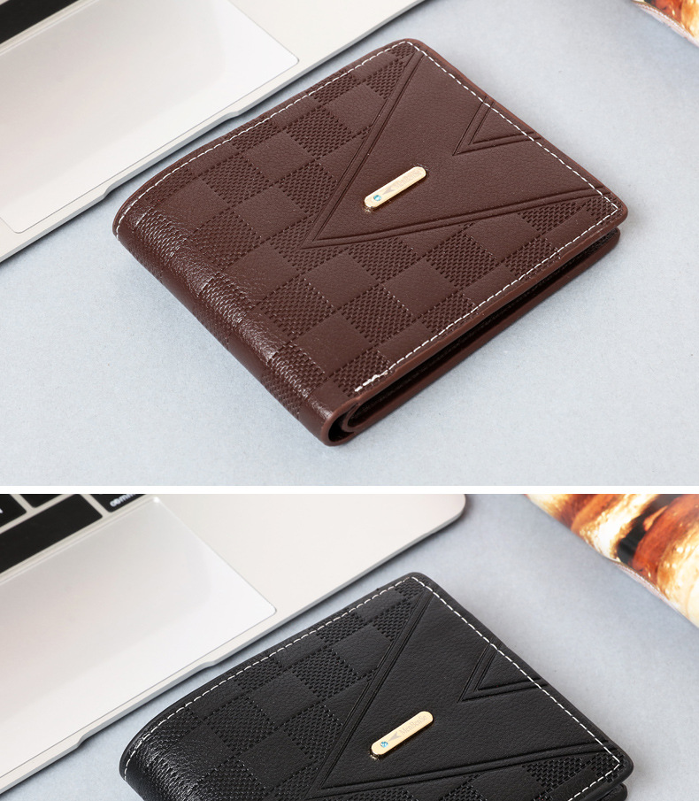PU Men Wallets Coin Pocket Zipper Real Men's Leather Wallet with Coin High Quality Male Purse cartera
